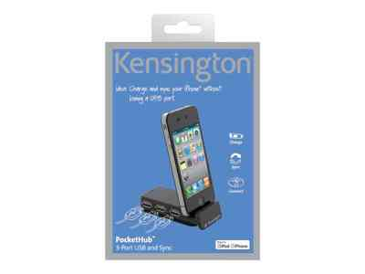 Kensington Pockethub 3 Port Usb And Sync