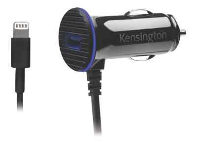Ver Kensington PowerBolt 3 4 Dual Port Fast Charge Car Charger