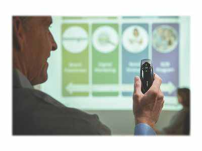 Kensington Presenter Expert Green Laser Presenter With Cursor Control And Memory