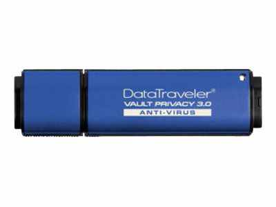 Ver Kingston DataTraveler Vault Privacy 3 0 Anti Virus DTVP30AV 4GB
