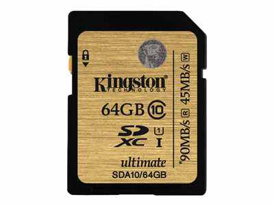 Ver Kingston Ultimate SDA10 64GB