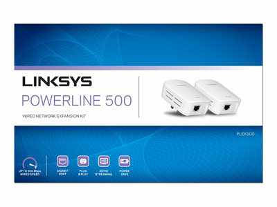 Linksys Powerline Plek500