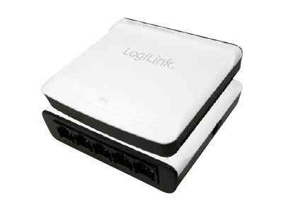 Logilink Fast Ethernet Desktop Switch 5 Port Mini Type
