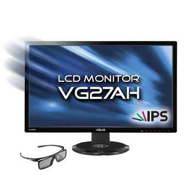 Monitor Asus Led Ips 27 Vg27ah 3d Mm Dvi