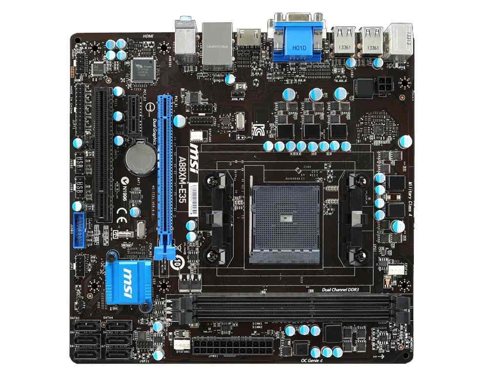 Msi A88xm E35 Placa Base A88xm E35