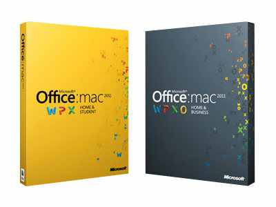 Microsoft Office For Mac Home And Business 2011 W6f 00148