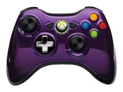 Microsoft Xbox 360 Special Edition Chrome Series Wireless Controller 43g 00062