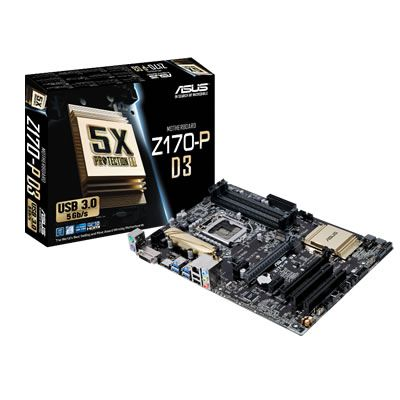 Ver ASUS Z170 P D3 1151 DDR4 ATX