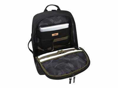 Targusflip Fit 15 6 Laptop Backpack Black