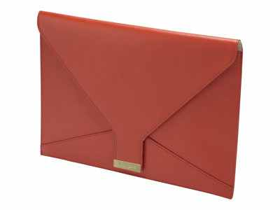 Targus Leather 13 3 Clutch Bag For Ultrabook Macbook