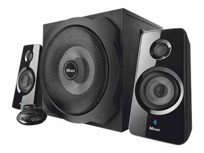 Ver Trust Tytan 2 1 Subwoofer Speaker Set with Bluetooth
