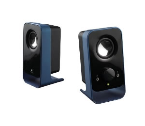 Altavoces Logitech Ls 11 Azules Para Pc 20 Peacock Blue