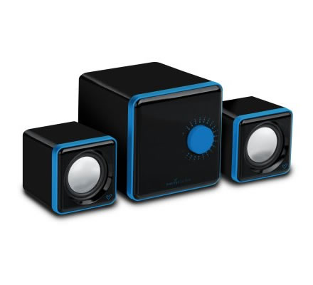 Energy S250 Altavoces 21 12w Soporte Mp4 Azul