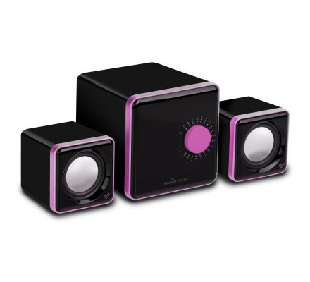 Energy S250 Altavoces 21 12w Soporte Mp4 Rosa