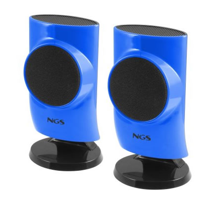 Ngs Blue Hatch 20 Altavoces 4w Pc Usb Azul