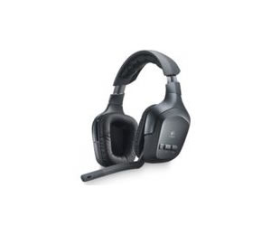 Logitech Wireless Headset F540 For Gaming