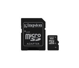 Ver Kingston 8GB microSDHC