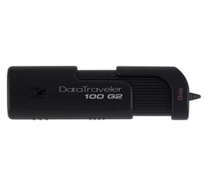 Memoria Usb 8gb Kingston Hi-speed Datatraveler 100 G2  Retractil