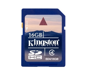 TARJETA MEMORIA SECURE DIGITAL 16GB KINGSTON SD HC