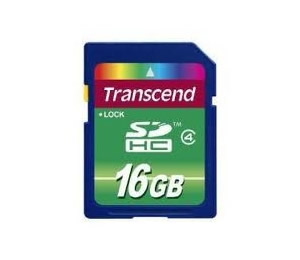 Tarjeta Memoria Secure Digital 16gb Transcend Sd Hc 4mb