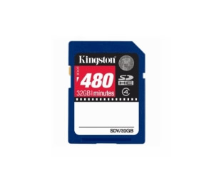 Tarjeta Memoria Secure Digital 32gb Sd Hc Especial Video Kingston