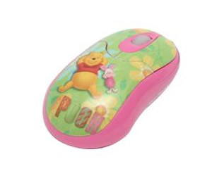 Mouse Winnie The Pooh Disney Optico Usb 800dpi