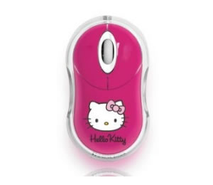 Raton Hello Kitty Cordless Rosa