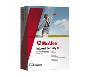 Antivirus Mcafee Internet Security 2011 3 Usuarios