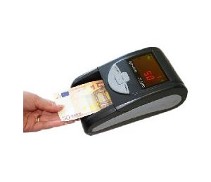 Detector Billetes Falsos Con Bateria Ct320 Plus